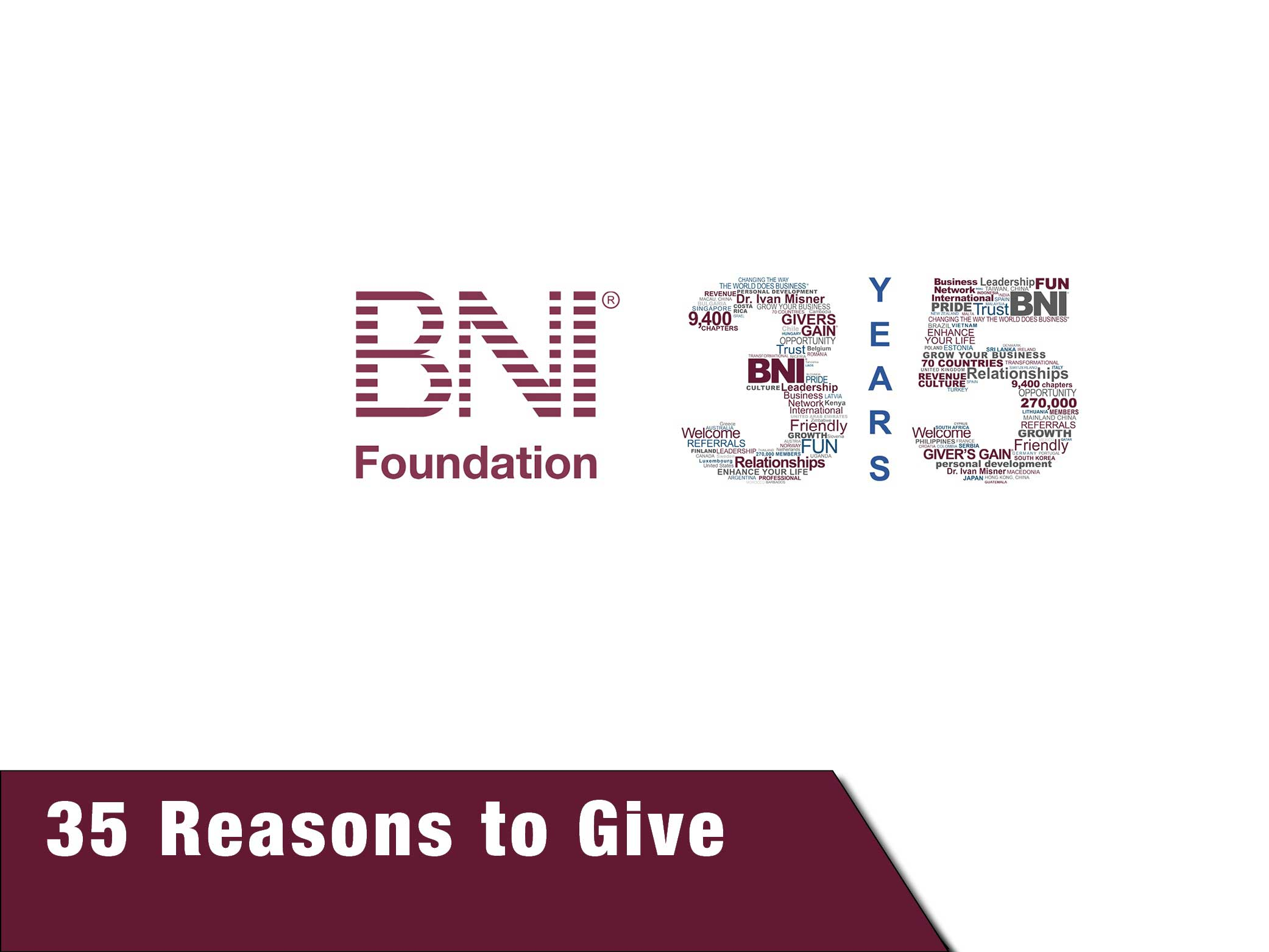 35 Reasons to Give