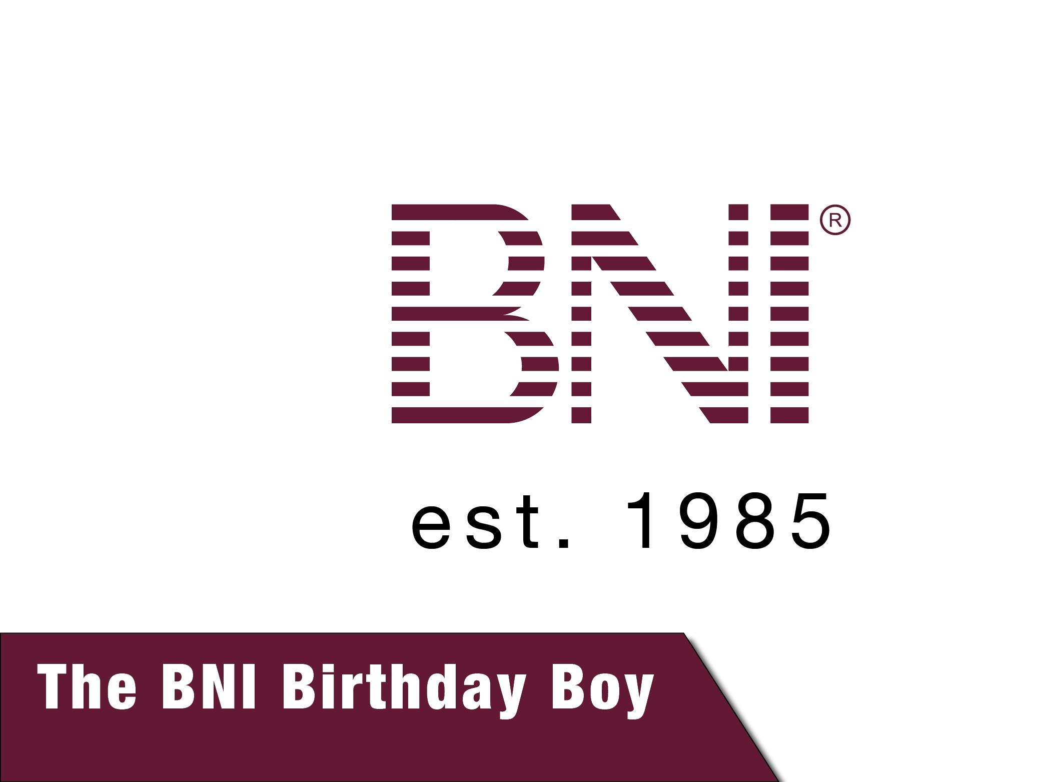 The BNI Birthday Boy